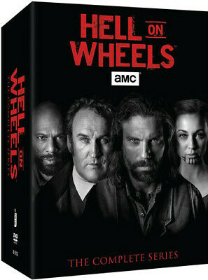 Hell On Wheels: The Complete Series - 9 DISC SET (2016, DVD NEW)