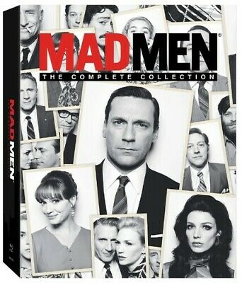 Mad Men: The Complete Collection - 23 DISC SET (2015, Blu-ray NEW)