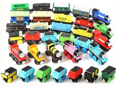 Wooden Thomas & Friends Train the Tank Engine Railway Magnetic Train Kids Gift