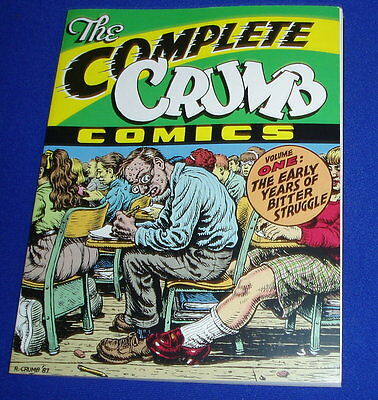 The Complete Crumb Comics vol 1. First edition & First printing 1987.  VFN.