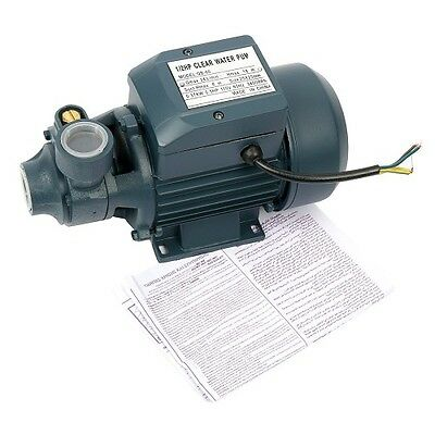 Electric Industrial Centrifugal Clear Clean Water Pump Pool Pond Farm 1/2 hp US
