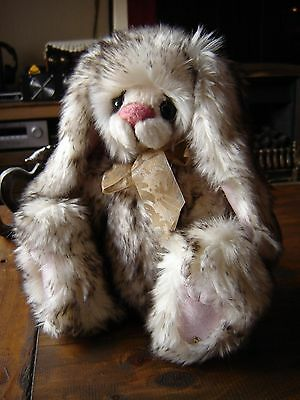 "Kaycee Bears Teacup Rabbit. Limited edition 32/40. Approximately 13"" tall."