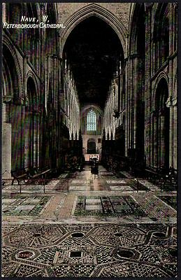 Postcard - Cambridgeshire - Nave, Peterborough Cathedral