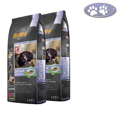 2 x 15 kg Belcando SENIOR SENSITIVE Hundefutter für ältere, normal aktive Hunde