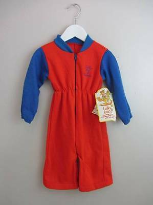 Girls vintage playsuit sleepsuit American rockabilly age 1 cheerleader NWT's 60'