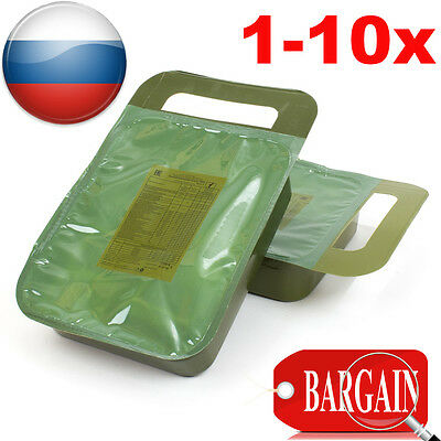 Russian Army Military MRE Special Forces FSB Food Daily Emergency Ration Lot