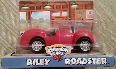 COLLECTIBLE CHEVRON CARS RILEY ROADSTER, New in Box