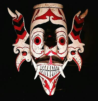 Large rare dayak hudoq mask indonesian tribal art tribal mask