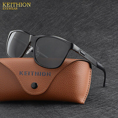 2017 Aluminium HD Polarized Sunglasses Men Driving Fishing Mirrored Eyewear