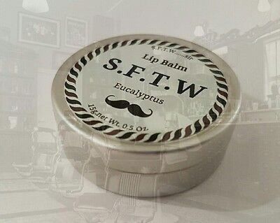 Mens Lip balm by S.F.T.W   Eucalyptus/Protection, Stocking filler, for men.