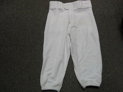 New Rawlings Adult Baseball Knickers White Various Sizes BP150K - DK74