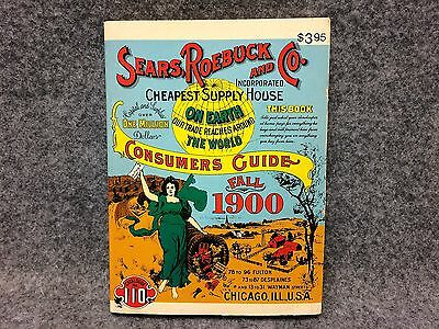 Vintage Fall 1900 Sears Roebuck And Co Catalogue Catalog No. 110 Consumers Guide