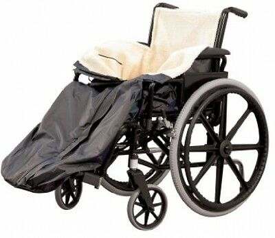 Fleece Lined Comfy And Warm Wheelchair Blanket Cover, Extra Large Fits All