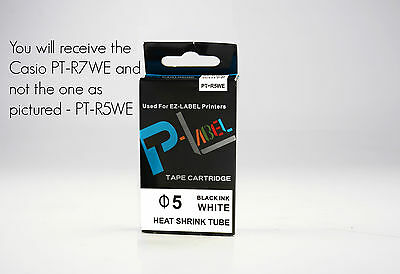 Casio XR-12ABU Compatible White on Blue 12mm 8m Label Tape KL60 G2 100 130 820