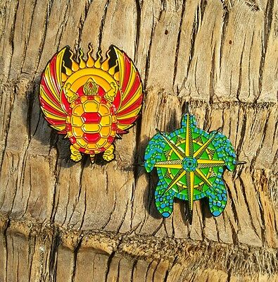 2-PACK Terrapin Station pins- Grateful Dead and Company Co pin turtles terrapins