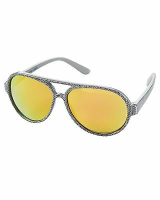 New Carter's Sunglasses Gray Aviator size Infant 0-24 months NWT Flexible Arms