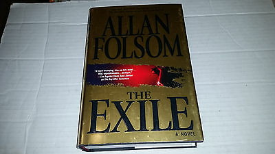 The Exile by Allan Folsom (2004, Hardcover) FIRST PRINTING