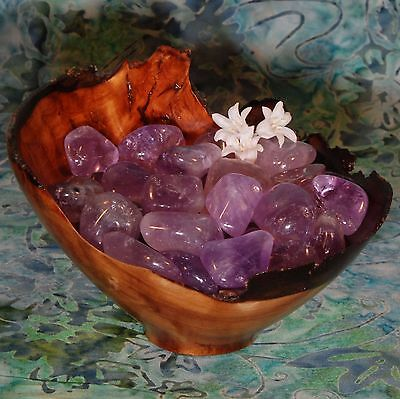 1 AMETHYST Bolivia - Ethically Sourced, 1 Inch Tumbled Stone
