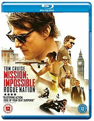 Mission: Impossible - Rogue Nation [Blu-ray] [Region Free] - DVD  52VG The Cheap