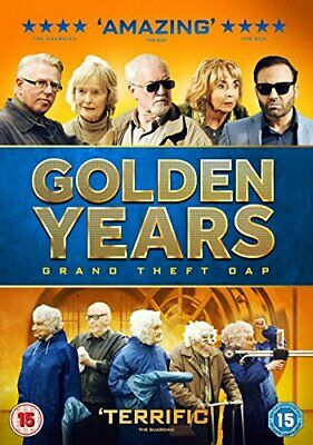 Golden Years Grand Theft OAP [DVD] - DVD  WMVG The Cheap Fast Free Post
