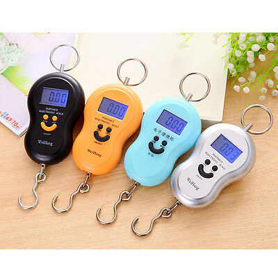 Hotsale 50kg/10g LCD Digital Fish Hanging Luggage Weight Electronic Hook Scale