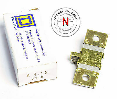 Square D B4.15 Overload Thermal Unit, For Overload Relay, Starter, Etc.