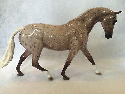 Peter Stone ABOUT TIME OOAK Glossy Chestnut Appaloosa Pony by Sheryl Leisure