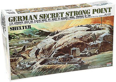 Microace Arii 444818 1/72 scale German Secret Strong Point (Shelter) from Japan