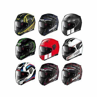 Nolan N87 N-Com Graphic Road Motorcycle Bike Riding Full Face Crash Helmet Lid