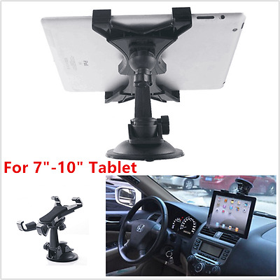 360° Car Windshield Desk Holder Suction Cup Mount Stand For 7-10inch iPad Tablet