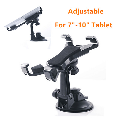 "For 7""-10"" Tablet PC Car Windshield Dashboard Desk Bracket Ipad GPS Mount Holder"
