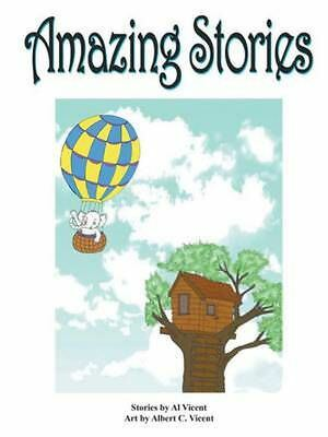 Amazing Stories by Al Vicent (English) Paperback Book Free Shipping!