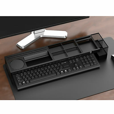 Mind Reader Axel Metal Desk Organizer with Charging Station
