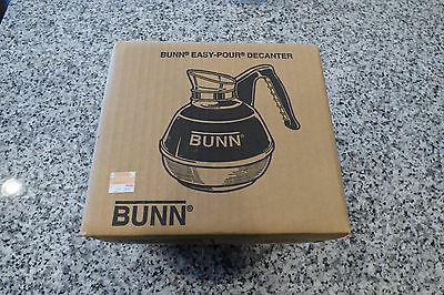 ~NEW~ Bunn 06100.0101 64 oz. Easy Pour Coffee Decanter Black Handle, Stainless