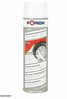 12x Förch Cavity - Sealing light brown L255, 500 ml Spray nozzle, 6620 6051