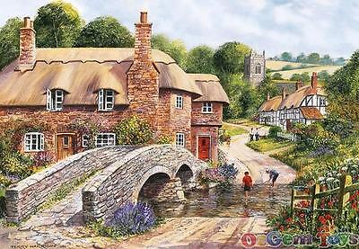 Packhorse Bridge Gibsons 2000 Piece Jigsaw Puzzles by Terry Harrison