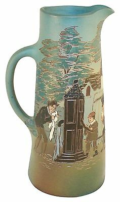 Weller Pottery Dickens Ware Pickwick Papers Tankard (Artist Signed)