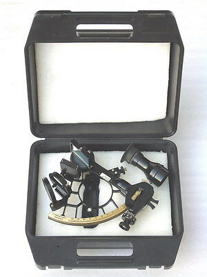 Vgc Marine Ships Nautical G. Hechelmann C & P Sextant Nr.38728 Hamburg In Box