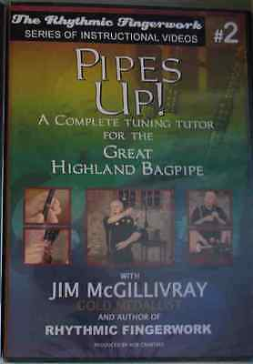 New Pipes Up DVD Jim McGillivray Bagpipe Set Up Tuning