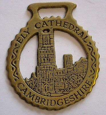 Vintage Horse Tack Brass Bridle Ornament~Ely Cathedral~Cambridgeshire
