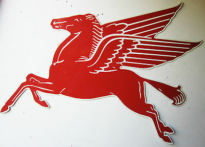 "Mobil Pegasus Horse Sign Gas Station 72"" by 36"""