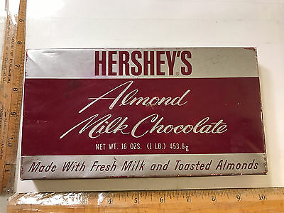 Early Hersheys Almond Milk Chocolate Candy Box Hershey Chocolate & Confectionery