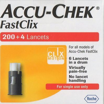 Accu-Chek Performa Nano FastClix Device Kit or Lancets 24 , 1002, 204