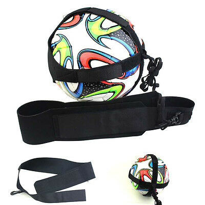 Football Kick Trainer Skills Solo Soccer Practice Training Equipments Waist Belt