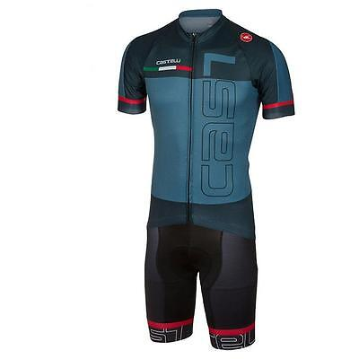 CASTELLI Cycling Clothing Jersey & Bib Shorts Sets Padding