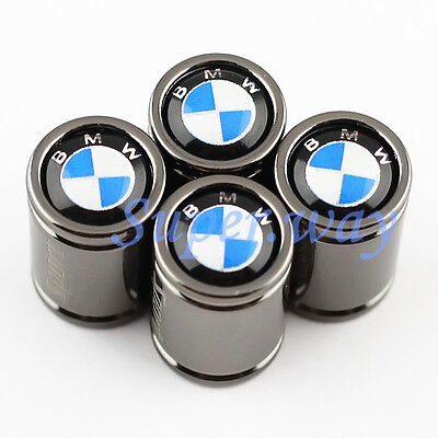 4Pcs Solid Titanium Alloy Sport Car Tyre Tire Air Valve Cap For BMW Accessories