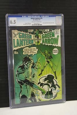 Green Lantern 76 Cgc 6.5 Ow-White Pages Classic Cover Neal Adams Denny O'neil