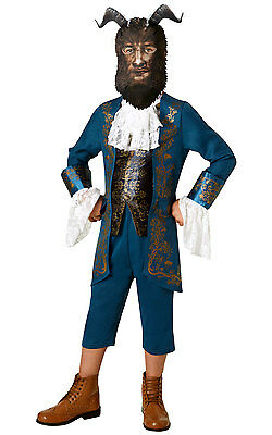 Disney Beauty and the Beast Boys Beast Costume Ages 3-8 Years