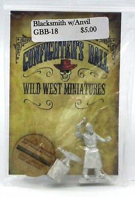 Knuckleduster GBB18 Gunfighter's Ball Blacksmith with Anvil Old West Civilian