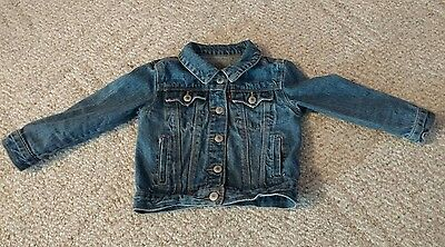 Levi's Toddler Denim Jacket Toddler Size 4T Great Condition Red Tab Free Ship